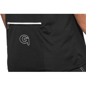 Gonso Ebro Fietsshirt korte mouwen Heren zwart
